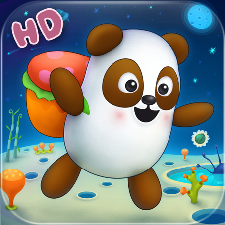 Мобильная iOS-игра Panda Sweet Tooth HD