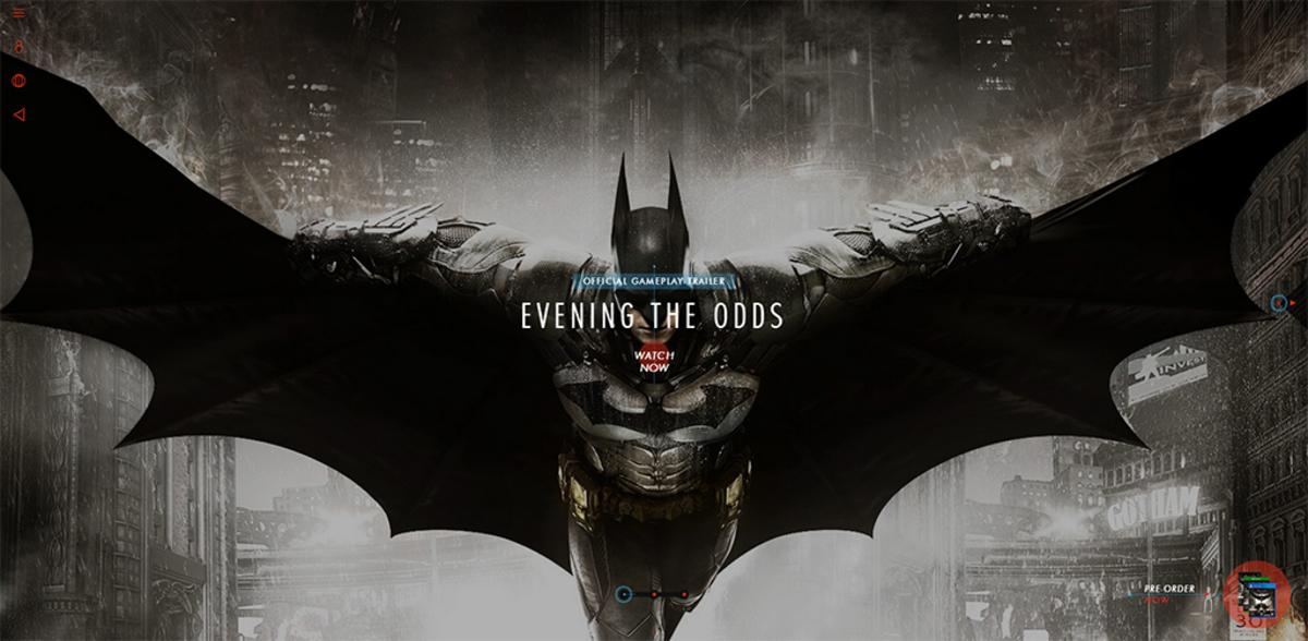 Batman: Arkham Knight / Проект компании WebKeepers