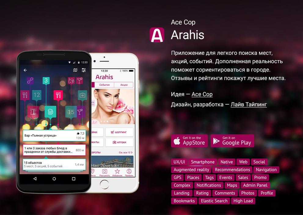 ARahis / Проект компании Лайв Тайпинг