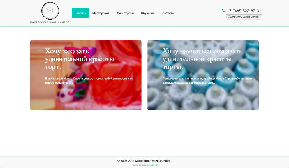 Мастерская Наиры Сироян / Проект компании Teamis