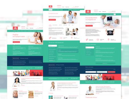 Сайт медицинской клиники «НЕОМЕД»