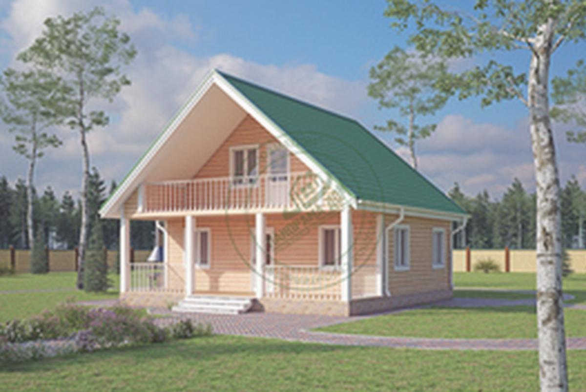 Продажа домов из бруса / Проект компании Just Seo