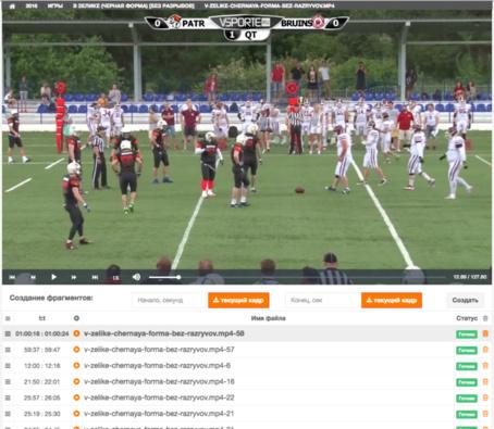 Видео аналитика для спортивных клубов
