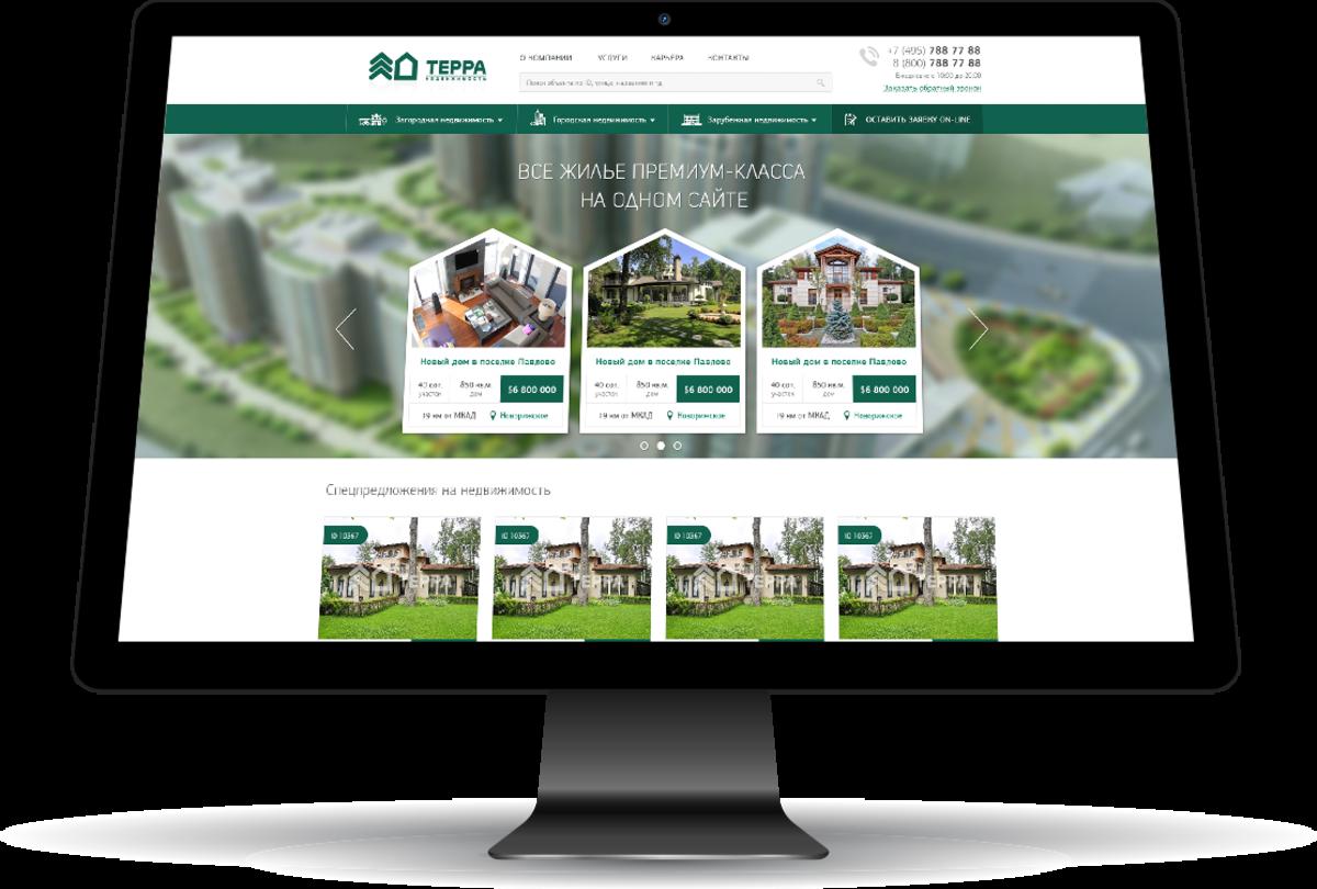 Терра-Недвижимость / Проект компании ELiTES